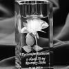 Kryształ dedykowany na dzień kobiet