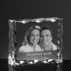 Ślubny kryształ, zdjęcie 2D