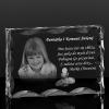 Pamiątka I Komunii Św. Zdjęcie 2D w krysztale