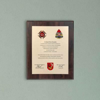 Dzień strażaka - Gratulacje
