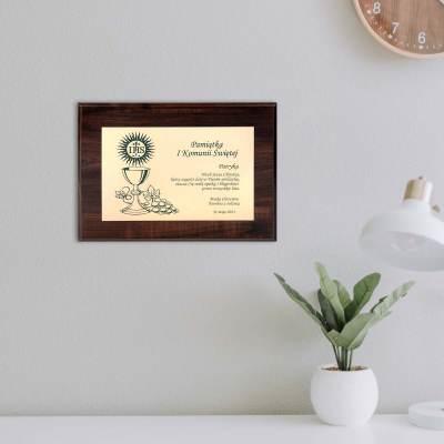Pamiątka I Komunii Świętej - Dyplom