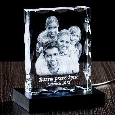 Lampka kryształowa