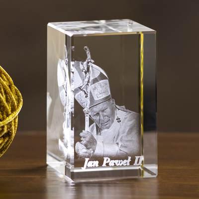 Jan Paweł II Statuetka 3D