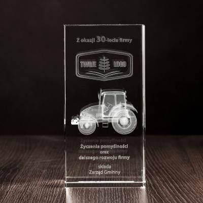 Prezent dla Rolnika - traktor 3D