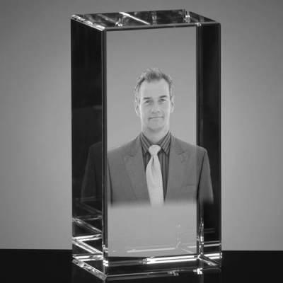 Zdjęcie 3D dla popiersia 1 osoby, statuetka duża