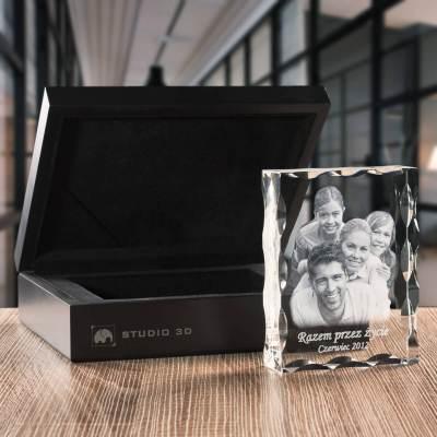 -PREMIUM- Rodzinna fotografia, kryształowa statuetka + indywidualna dedykacja