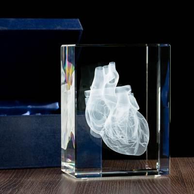 -MEGASTATUETKA- Serce 3D, Statuetka dla lekarza,