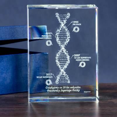 -MEGASTATUETKA- Kwas DNA personalizowany dedykacją