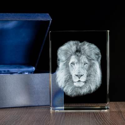 -MEGASTATUETKA- Król zwierząt, Model Lwa 3D dla myśliwego