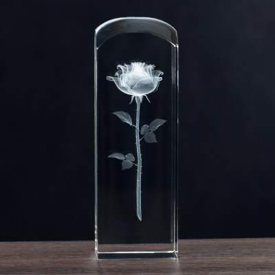 Róża 3D dla Babci i Dziadka - idelany Prezent dla Dziadków