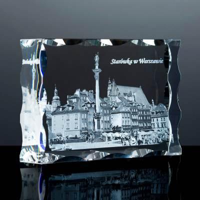 Podziękowania dla Promotora - Starówka w Warszawie 3D