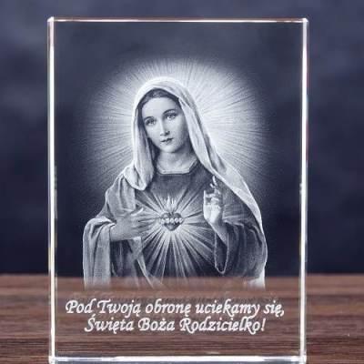 Matka Boska 3D - statuetka na prezent dla katechety