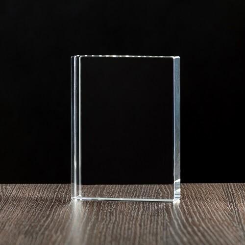 Kryształ płyta płaska