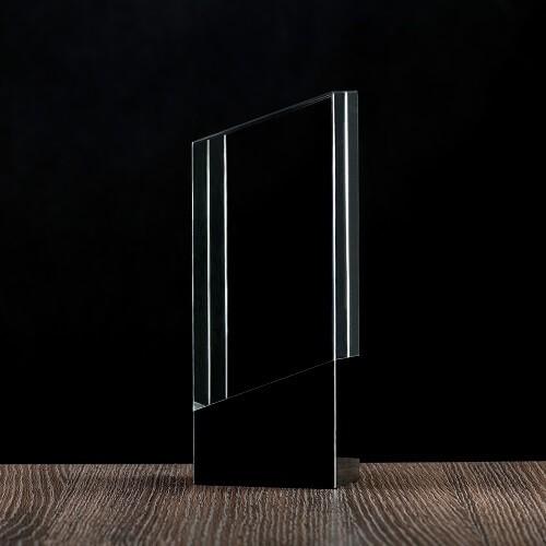 Kryształowe trofeum